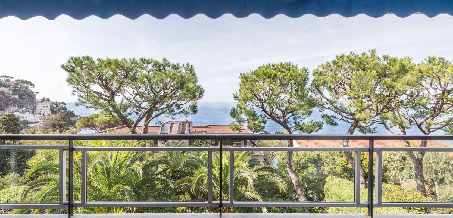 Luxurious 2-bedroom apartment with terrace and sea view - Nice Mont Boron