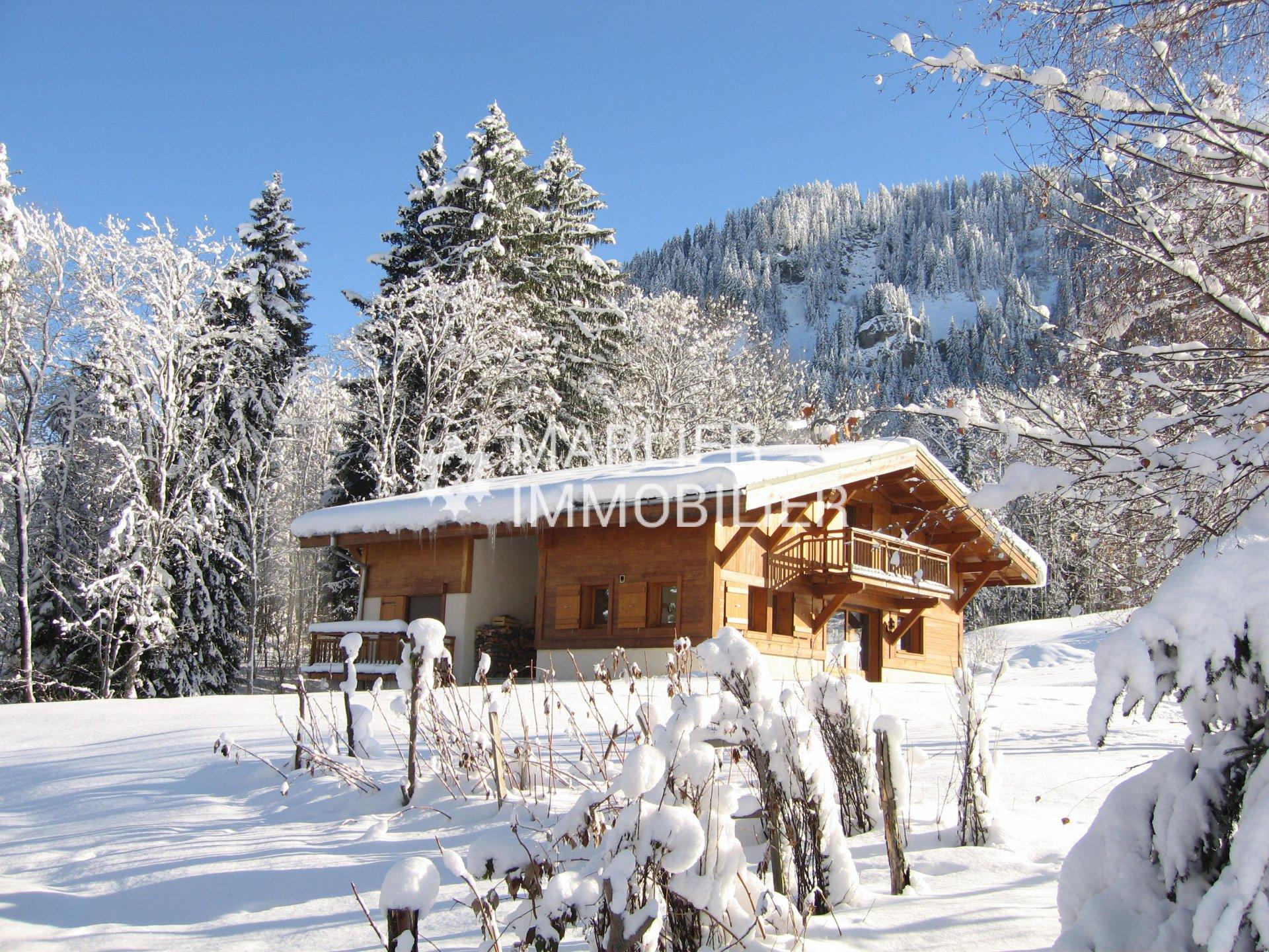 Seasonal rental Chalet - Megève Rochebrune