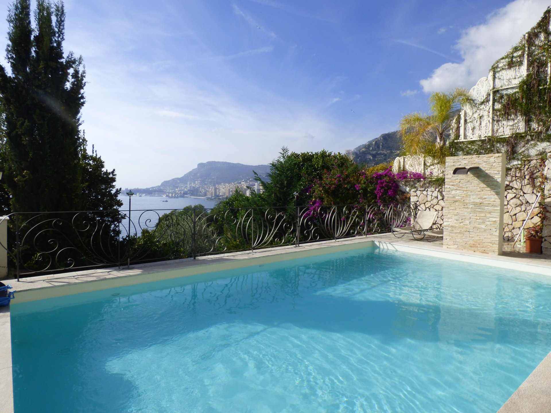 PANORAMIC SEA VIEW VILLA  - ROQUEBRUNE CAP MARTIN