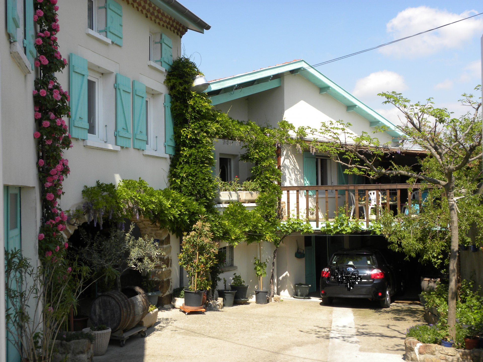 Maison de hameau du Pilat