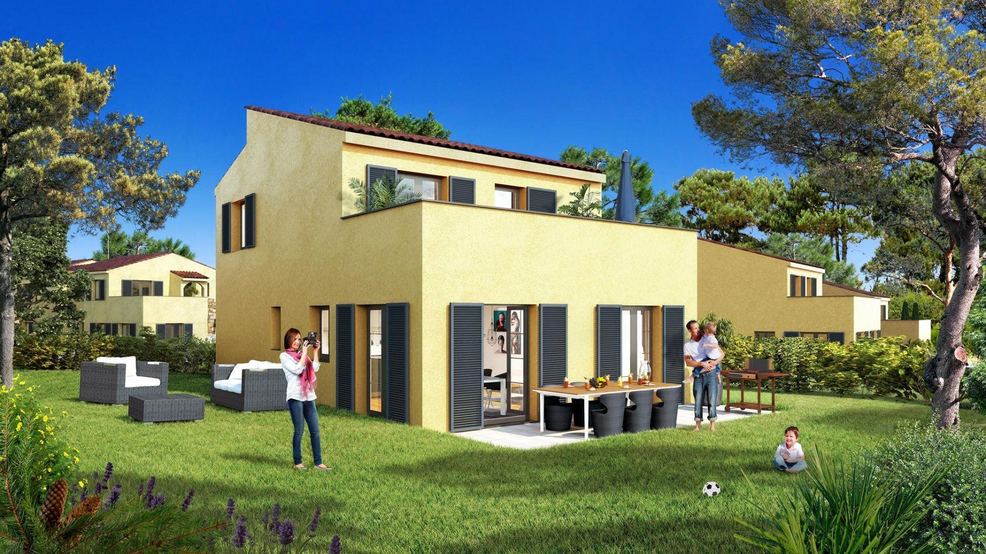 Appartement 3 pièces avec jardin - Calenzana