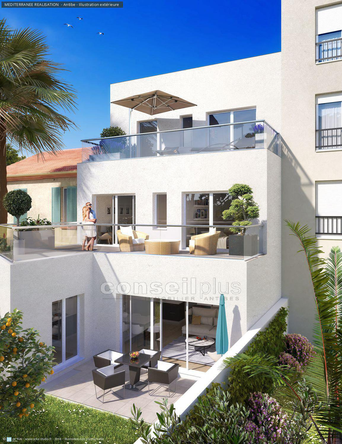 Sale Terraced house - Antibes