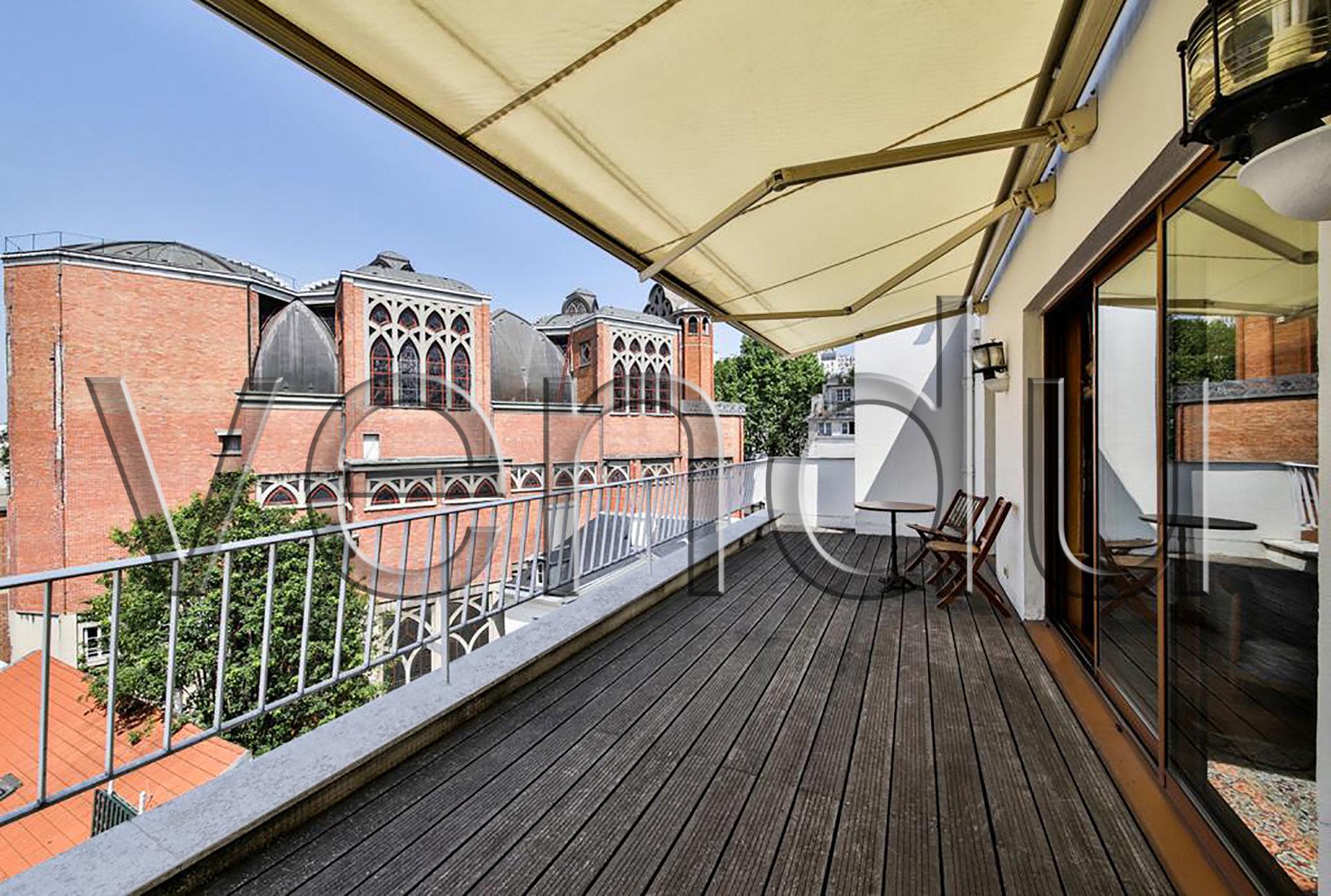 EXCLUSIVITE Abbesses - Dernier étage – Vue panoramique – Terrasse