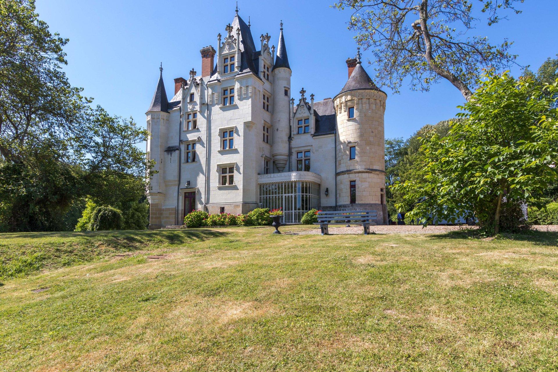 Château au cœur de la Touraine