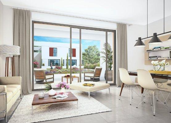 T3 65 m2 Terrasse + Box