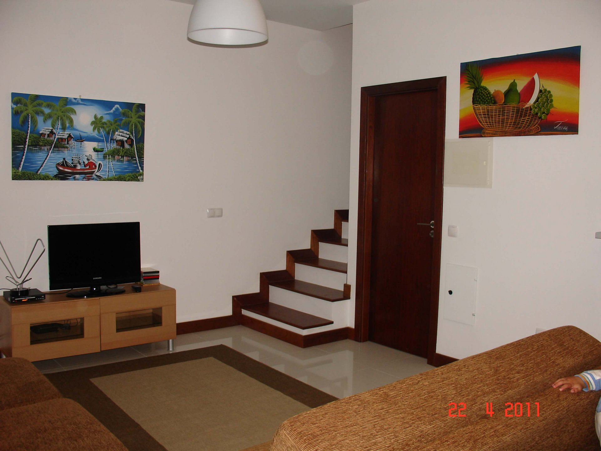 Nice T2 House of 76 m2, on 95 m2 of Flat Land, 5 Minutes to Walk to the Beach, Porto Santo