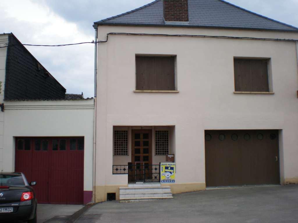 ORIGNY EN THIERACHE, maison individuelle 2 chambres