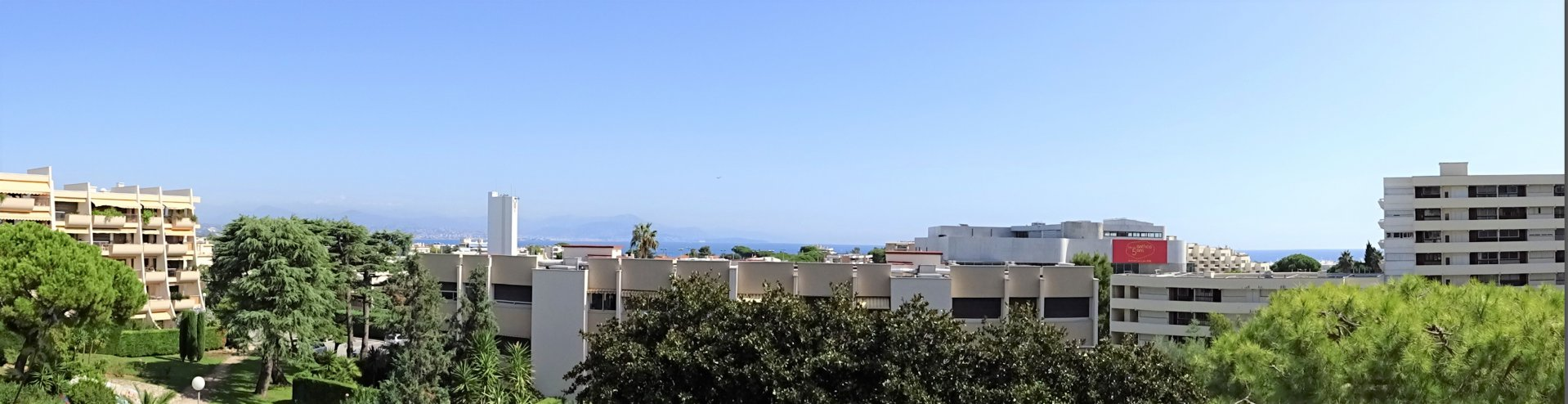 3 pièces d'angle - Antibes