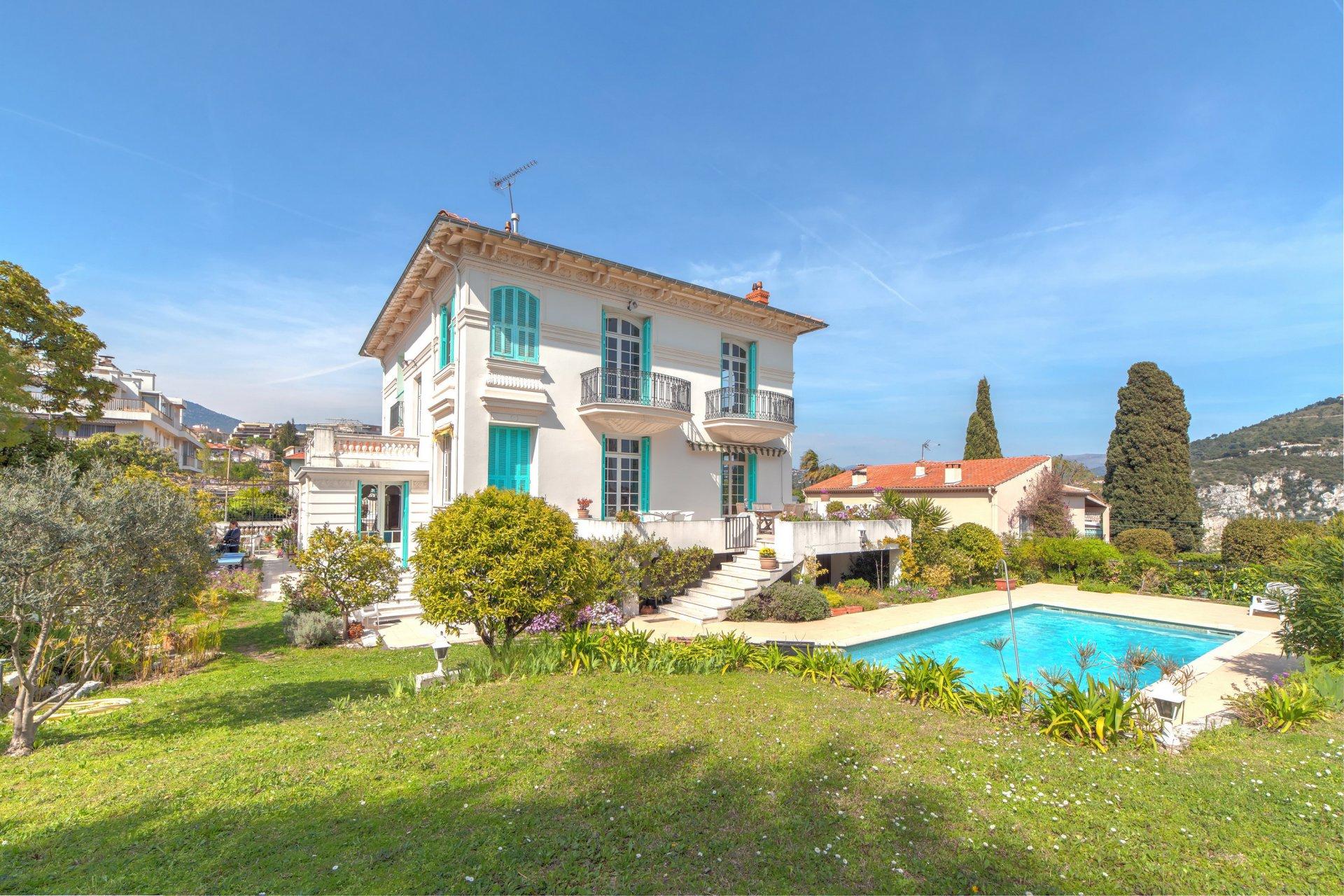 Villa Nice Cimiez 10p piscine