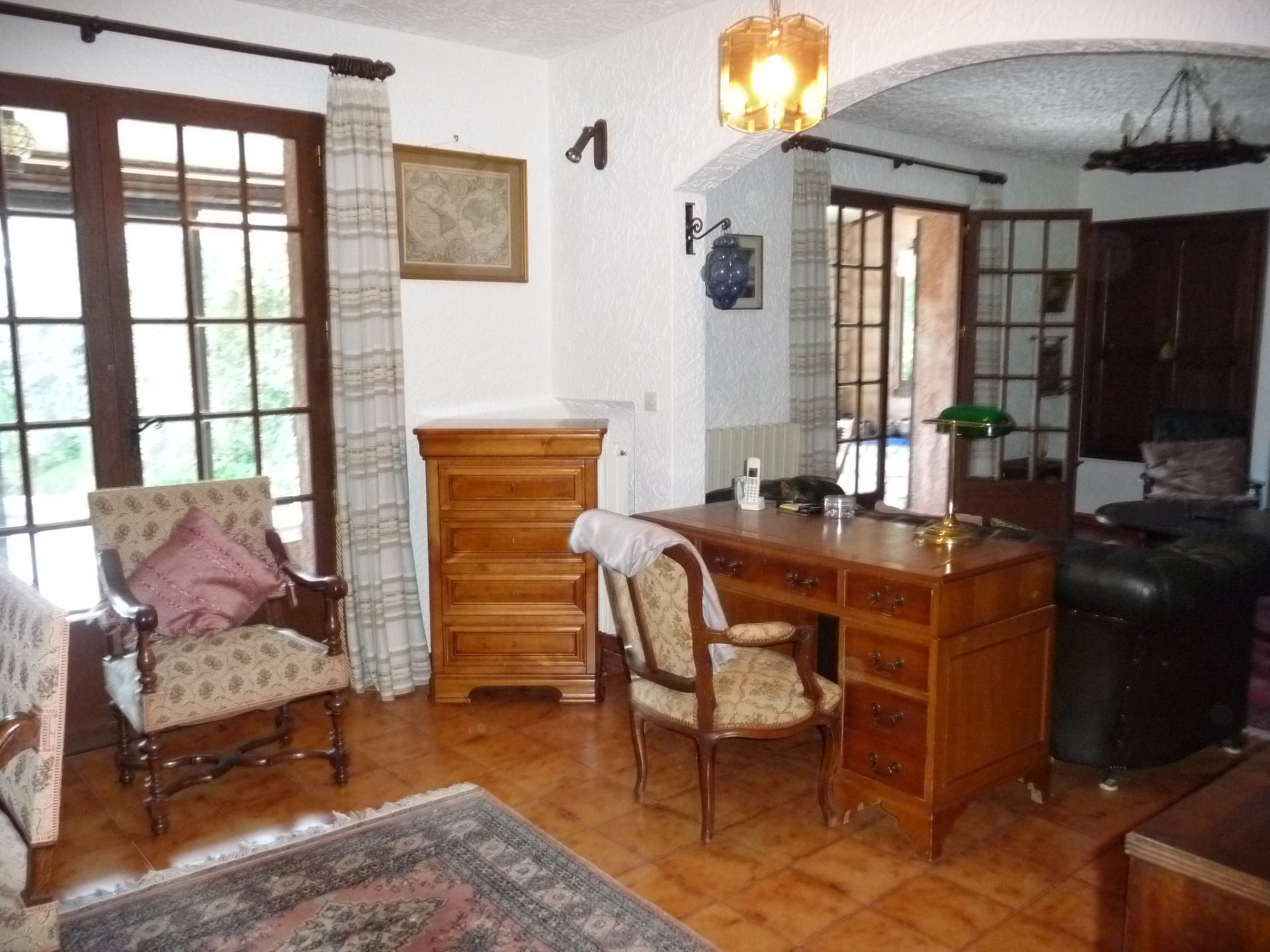Pays de Fayence house with 2 logements on a plot of 1340m², with a pool