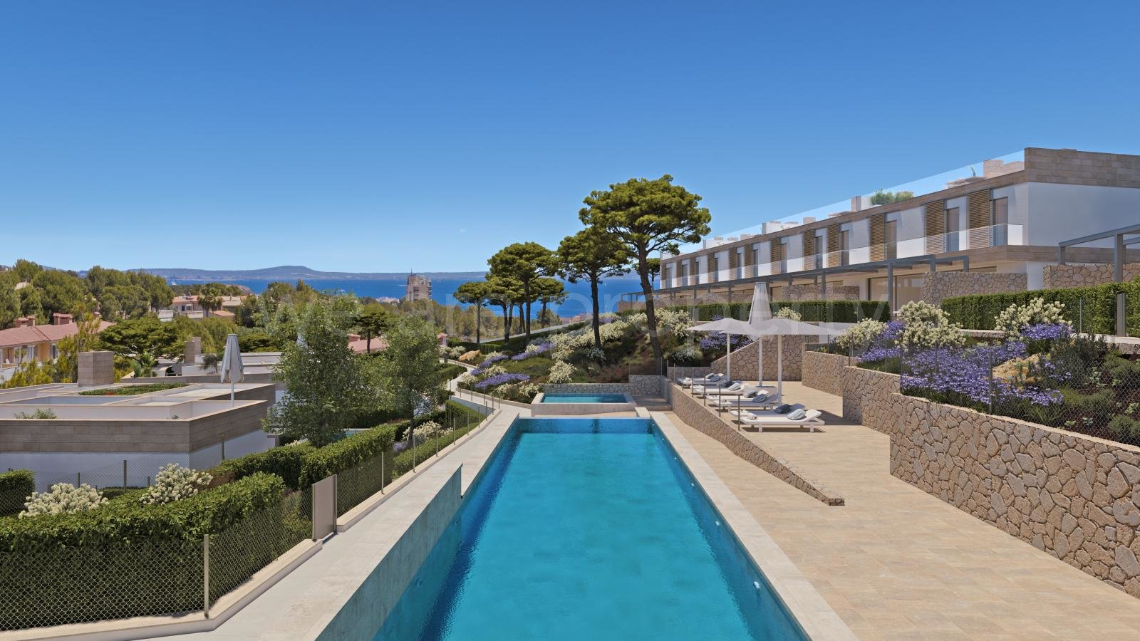 Unique homes with a Mediterranean feeling in Cala Vinyes