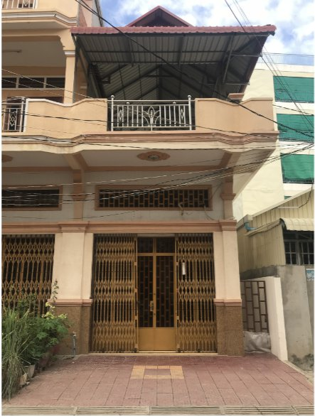 Flat House For sale at Teuk Thla $68,000