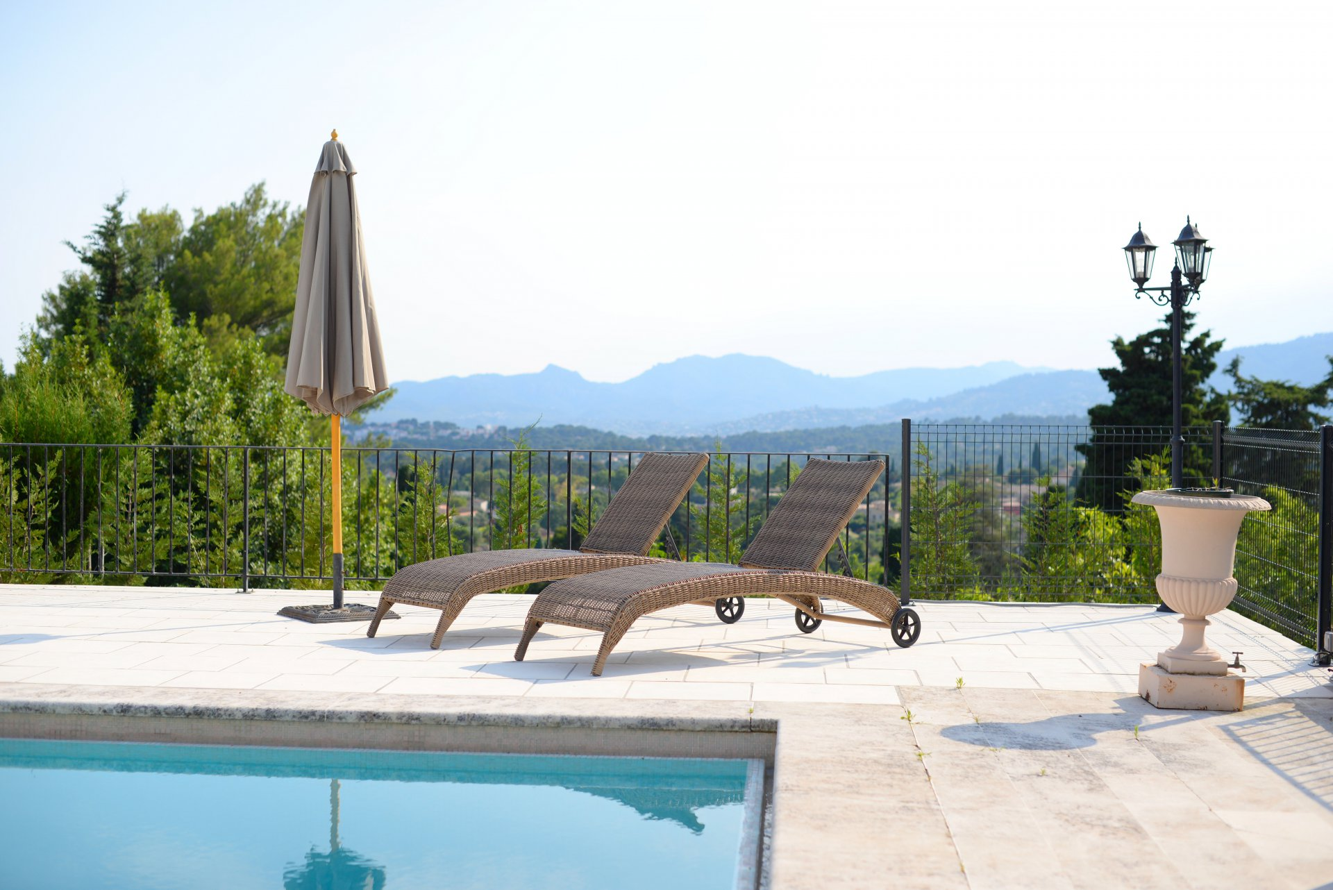 Villa in a gated estate in Mougins, on the French Riviera