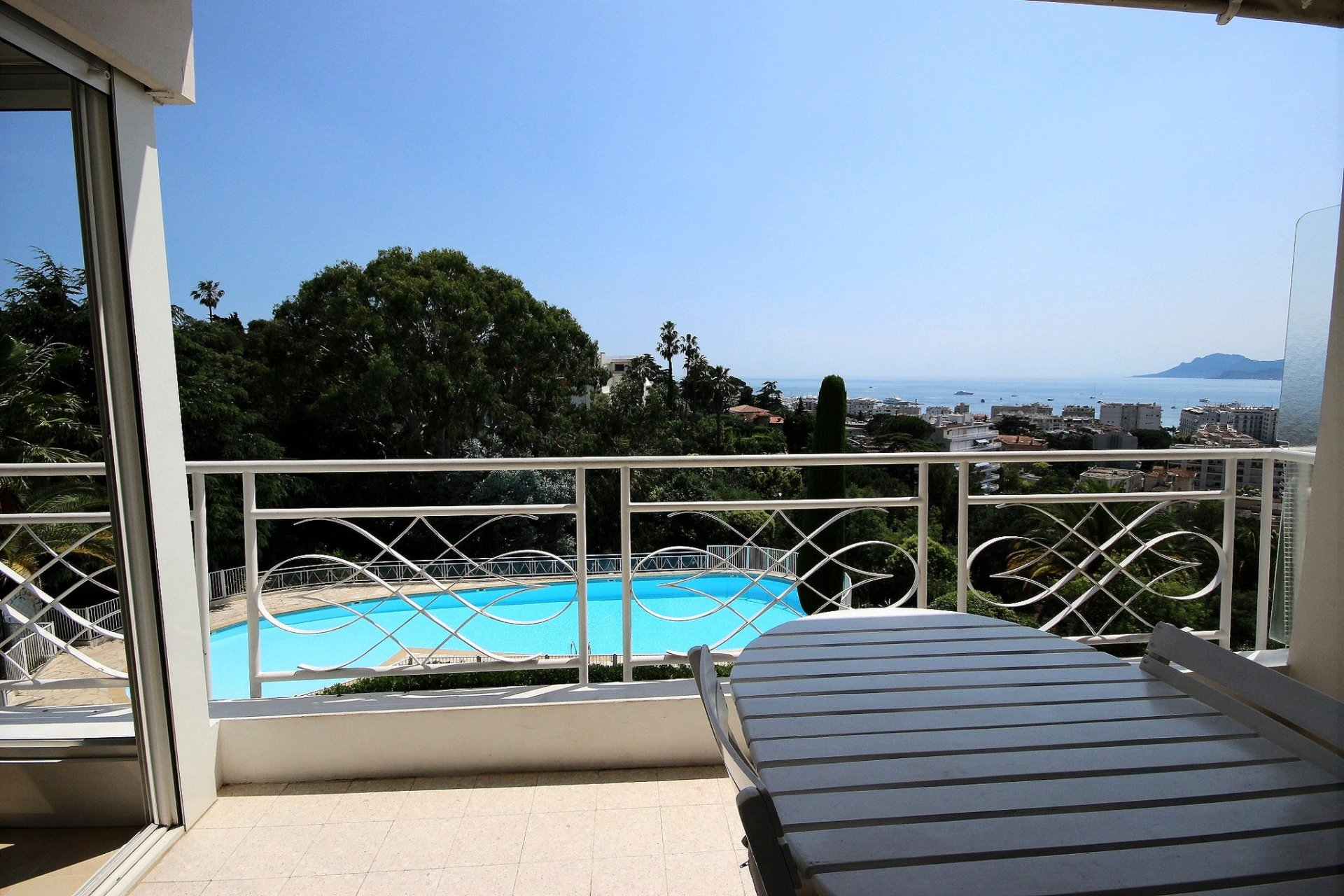 Swimming pool cannes basse californie property for sale sea view