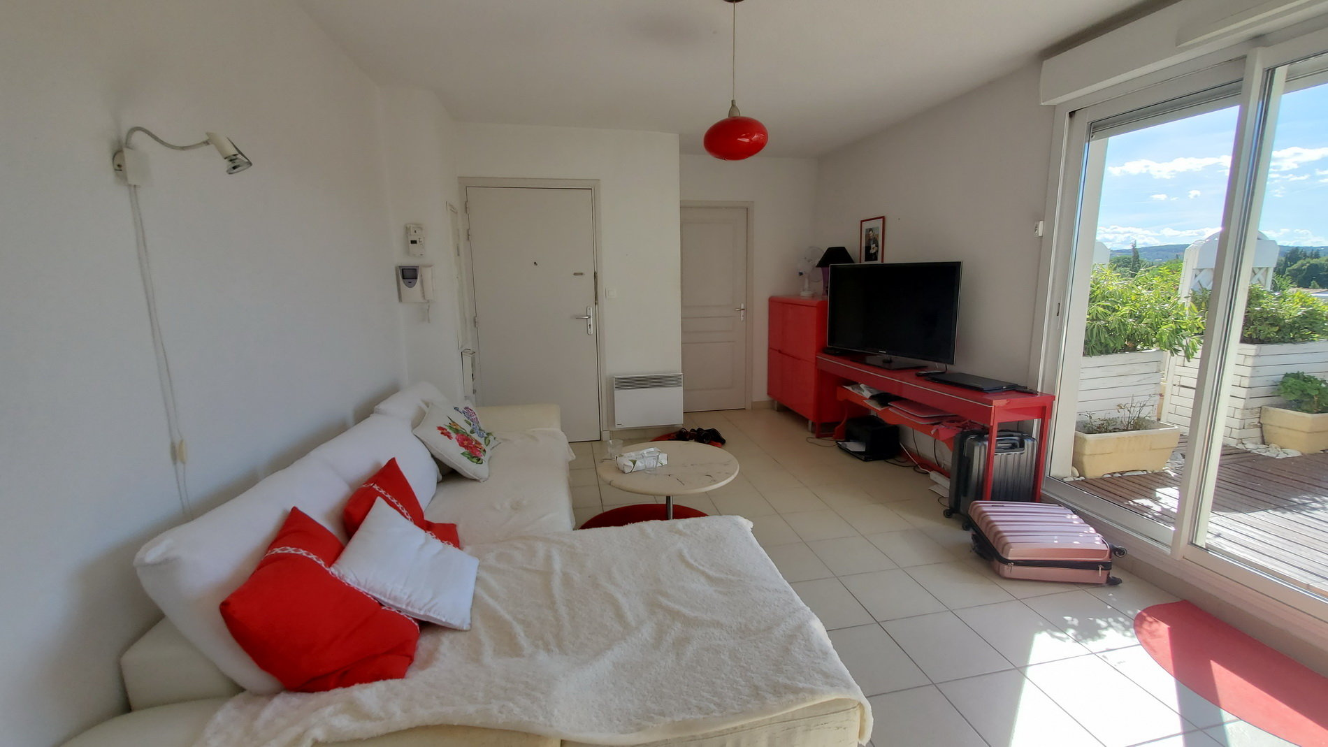 Appartement T2 avec grande terrasse et vue magnifique