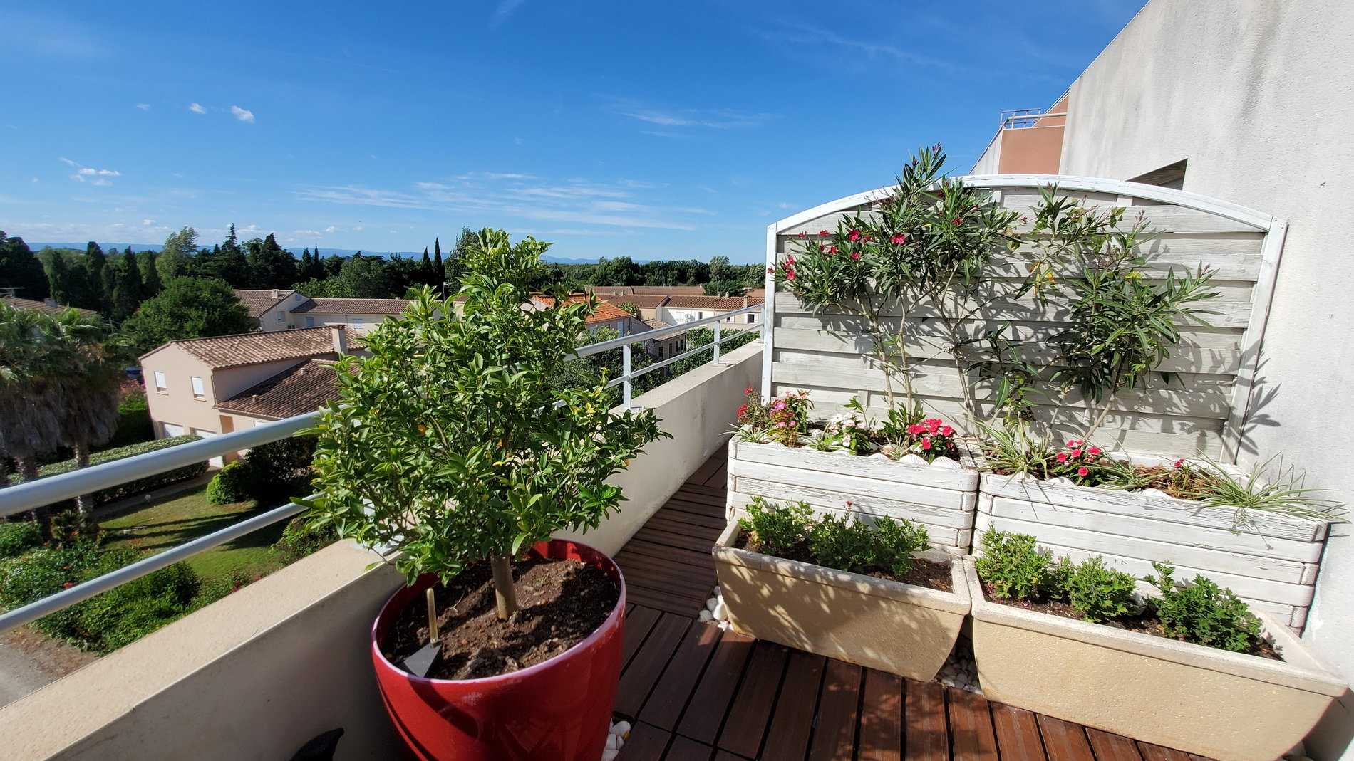 One bedroom apartment with big terrace with magnificent view