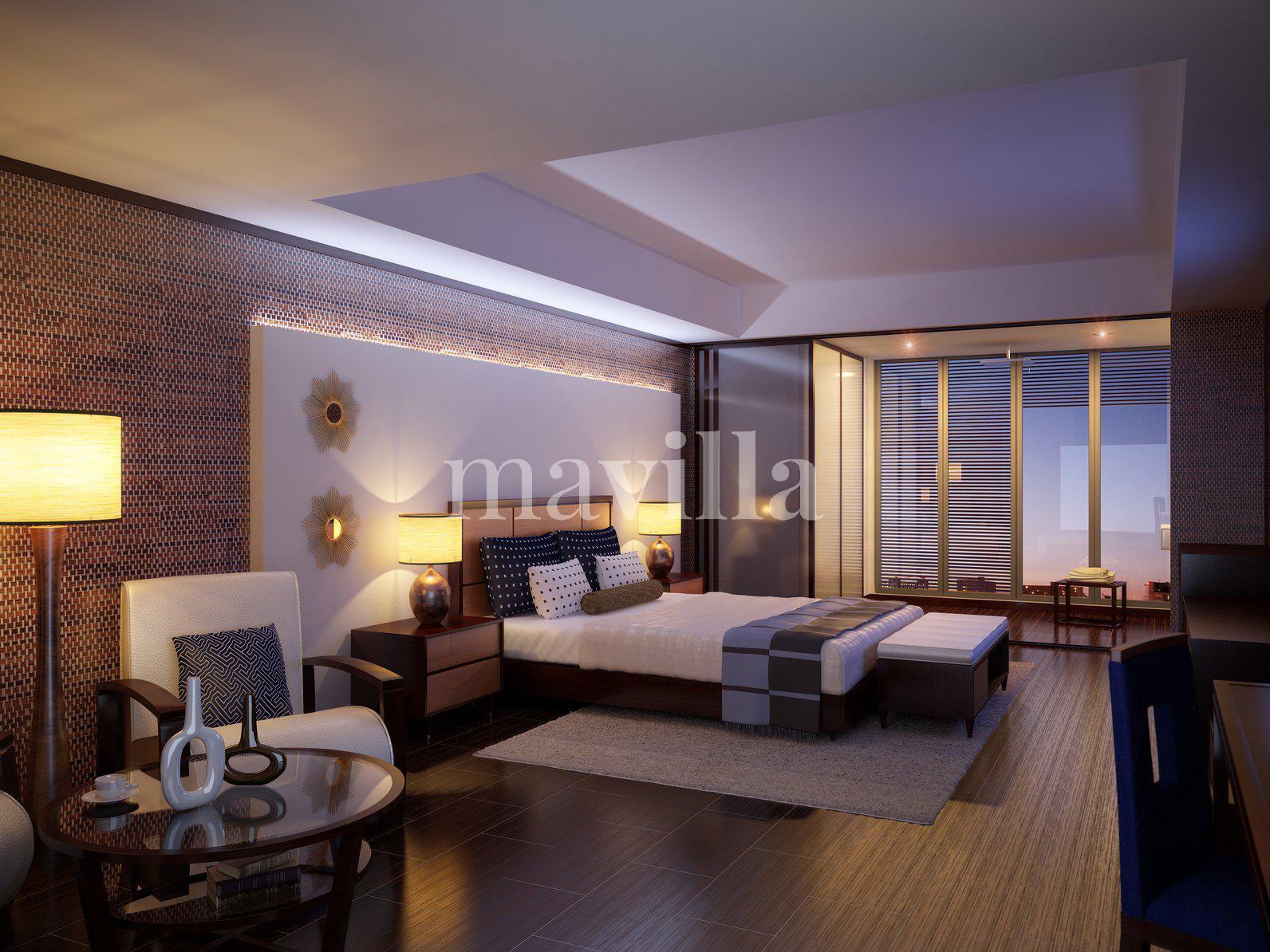 Bedroom Natural light Wooden floor