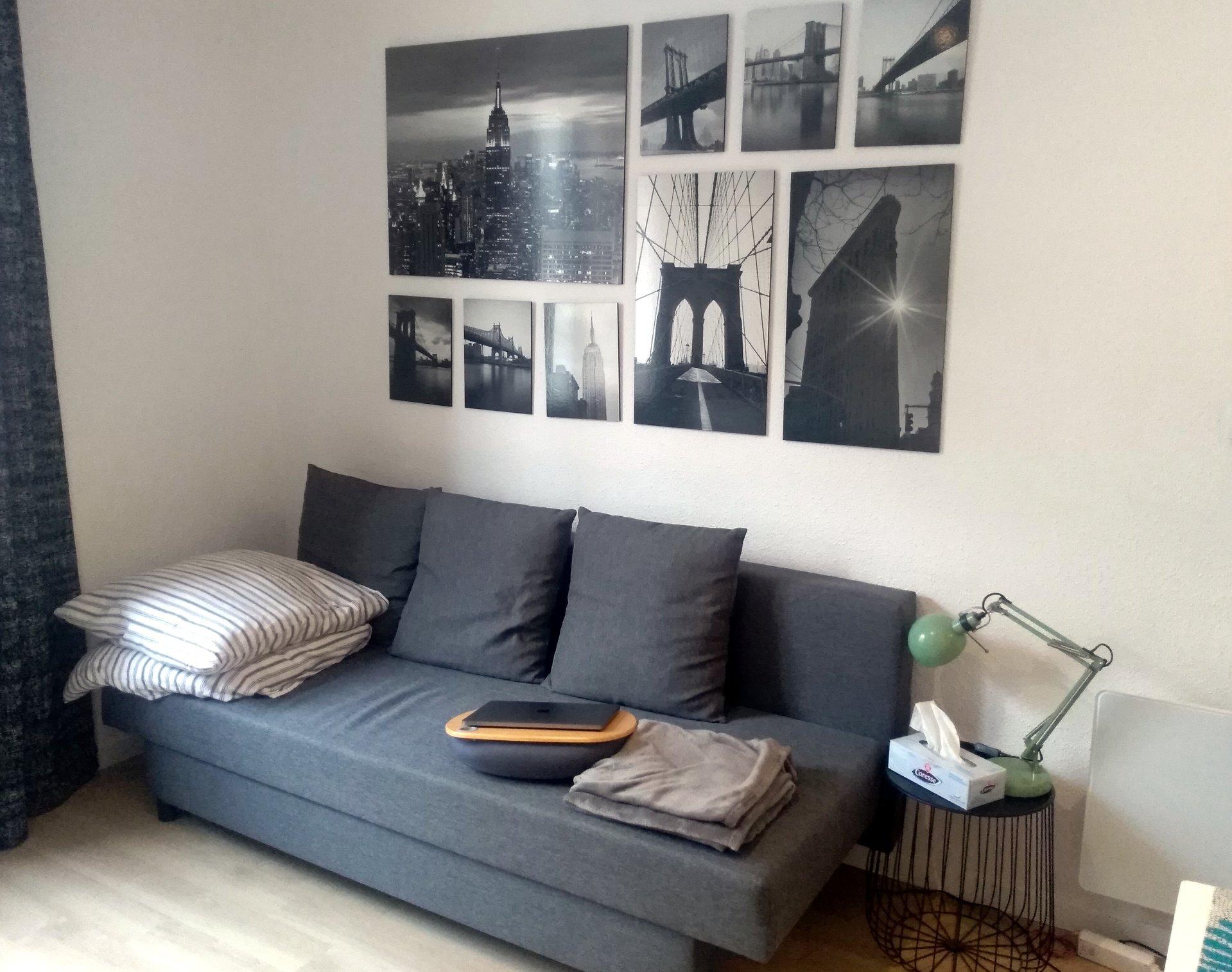 Studio meublé 20m² + parking
