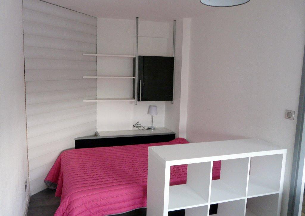 COMPANS CAFFARELLI  T1 meublé 29m²