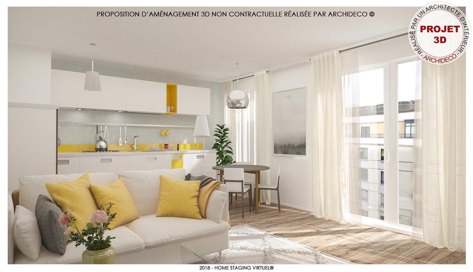 Appartement de standing - Ascenseur, terrasse et garage