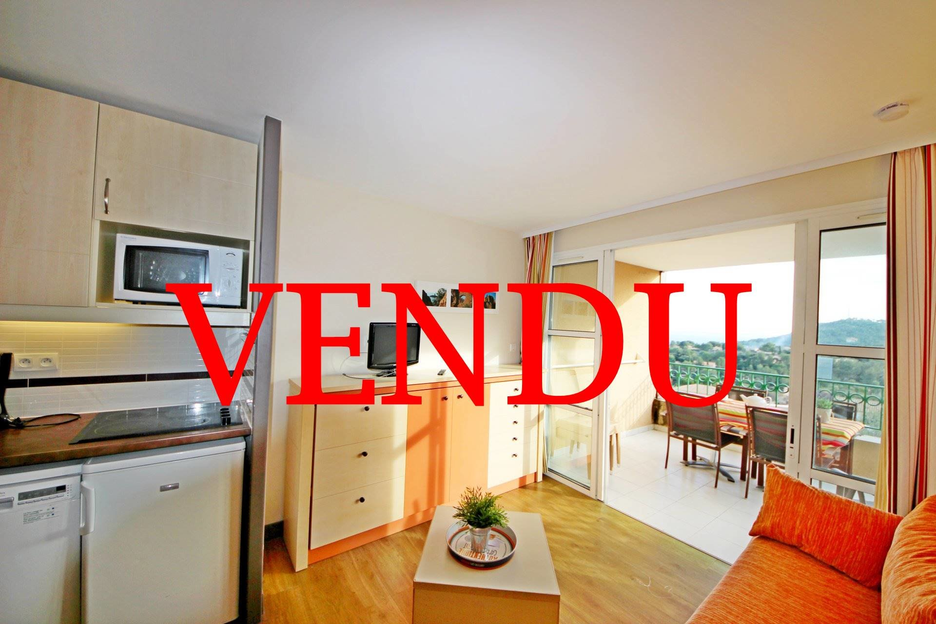 Purchase apartment 2 rooms with sea view