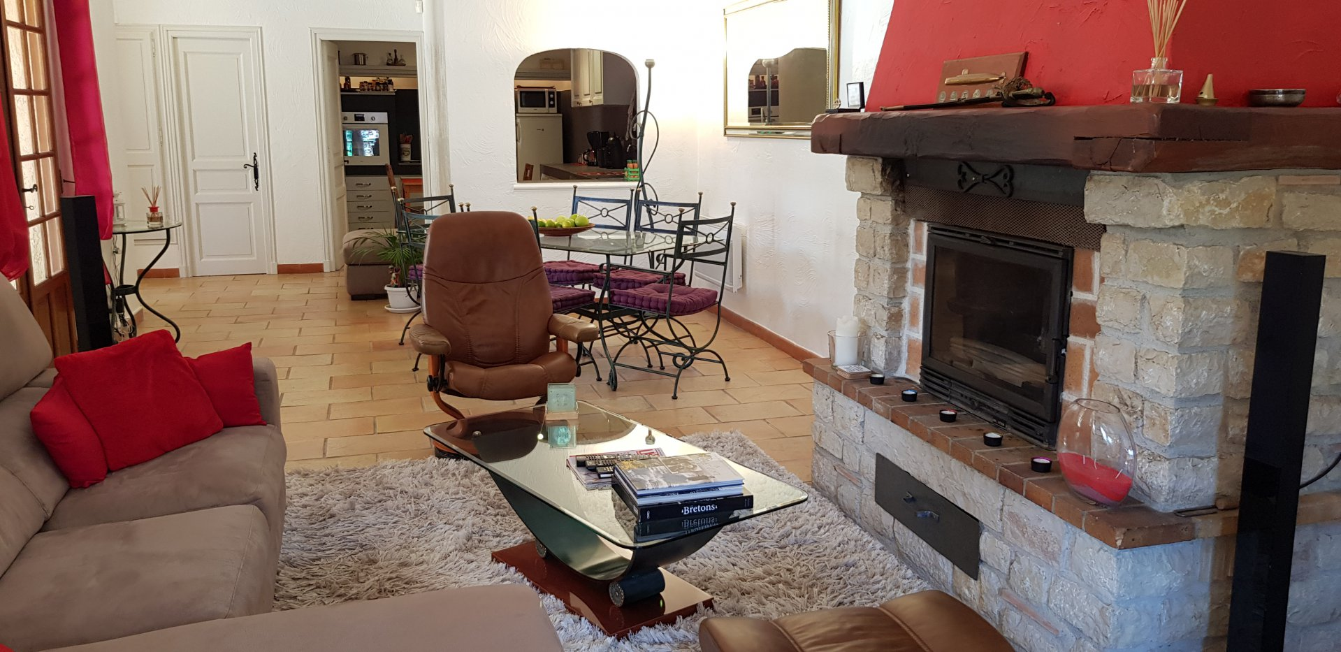 Saint Paul  de Vence - appartement villa