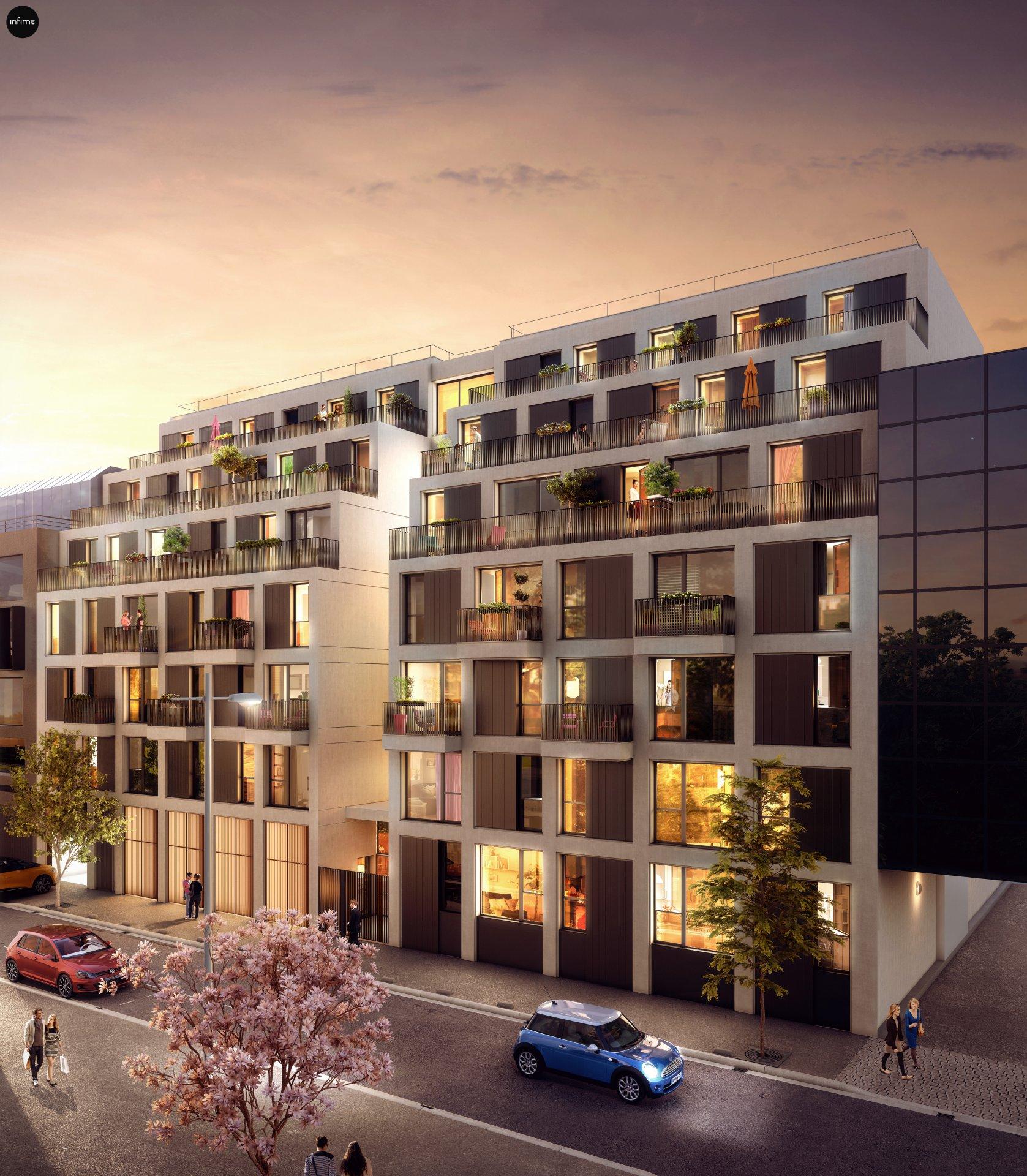 Development Building - Issy-les-Moulineaux