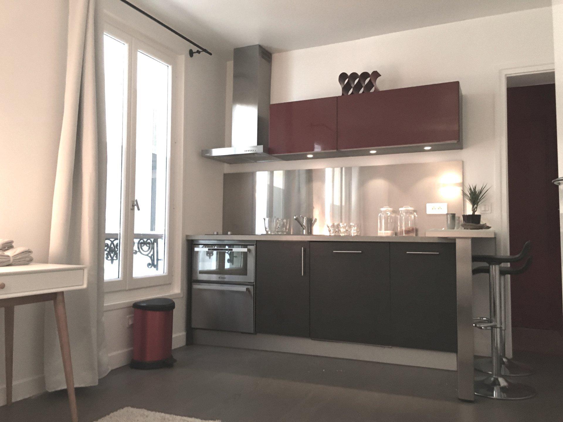 Boulogne Nord - Studio meublé