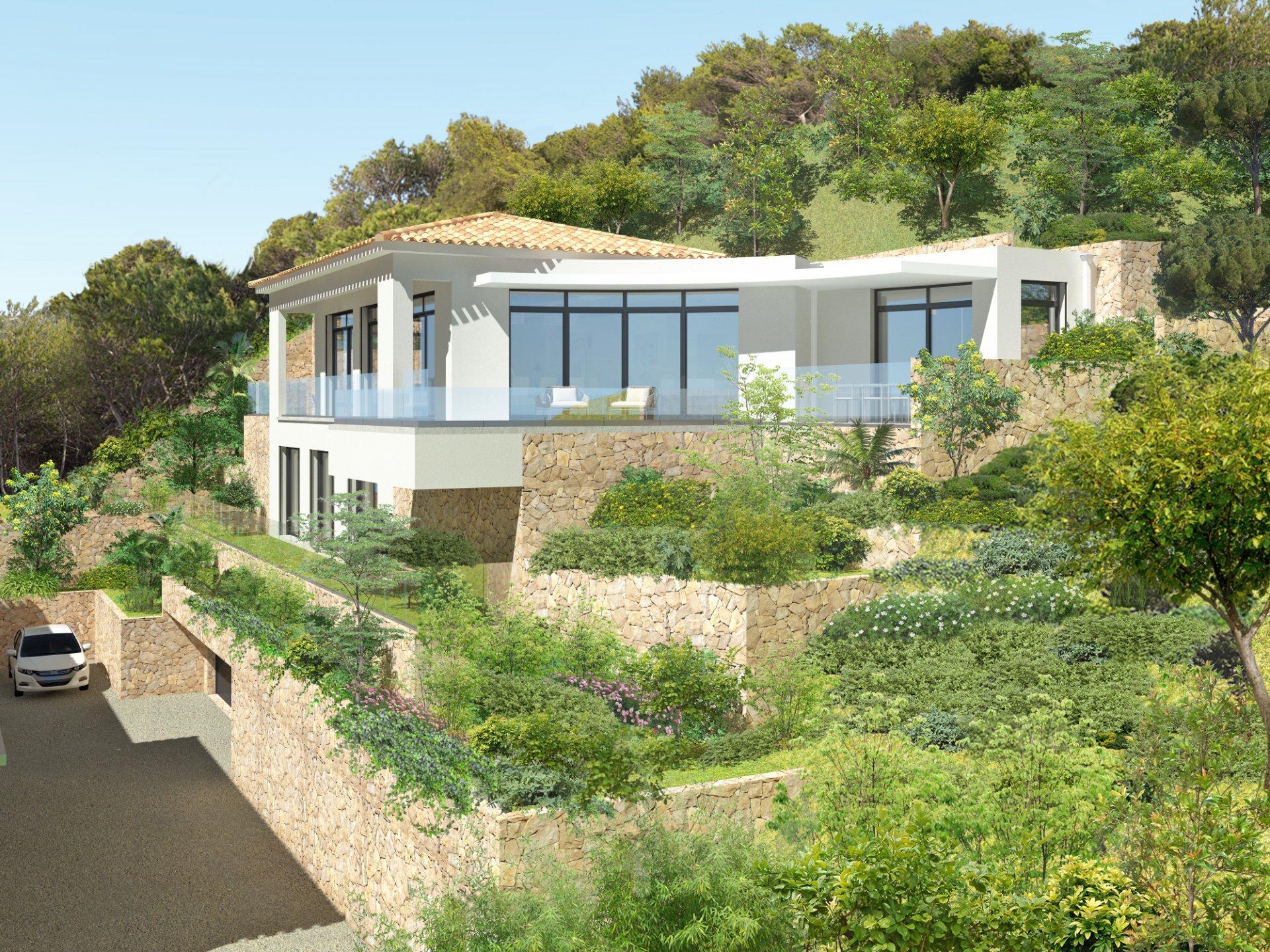 Bandol villas de luxe front de mer