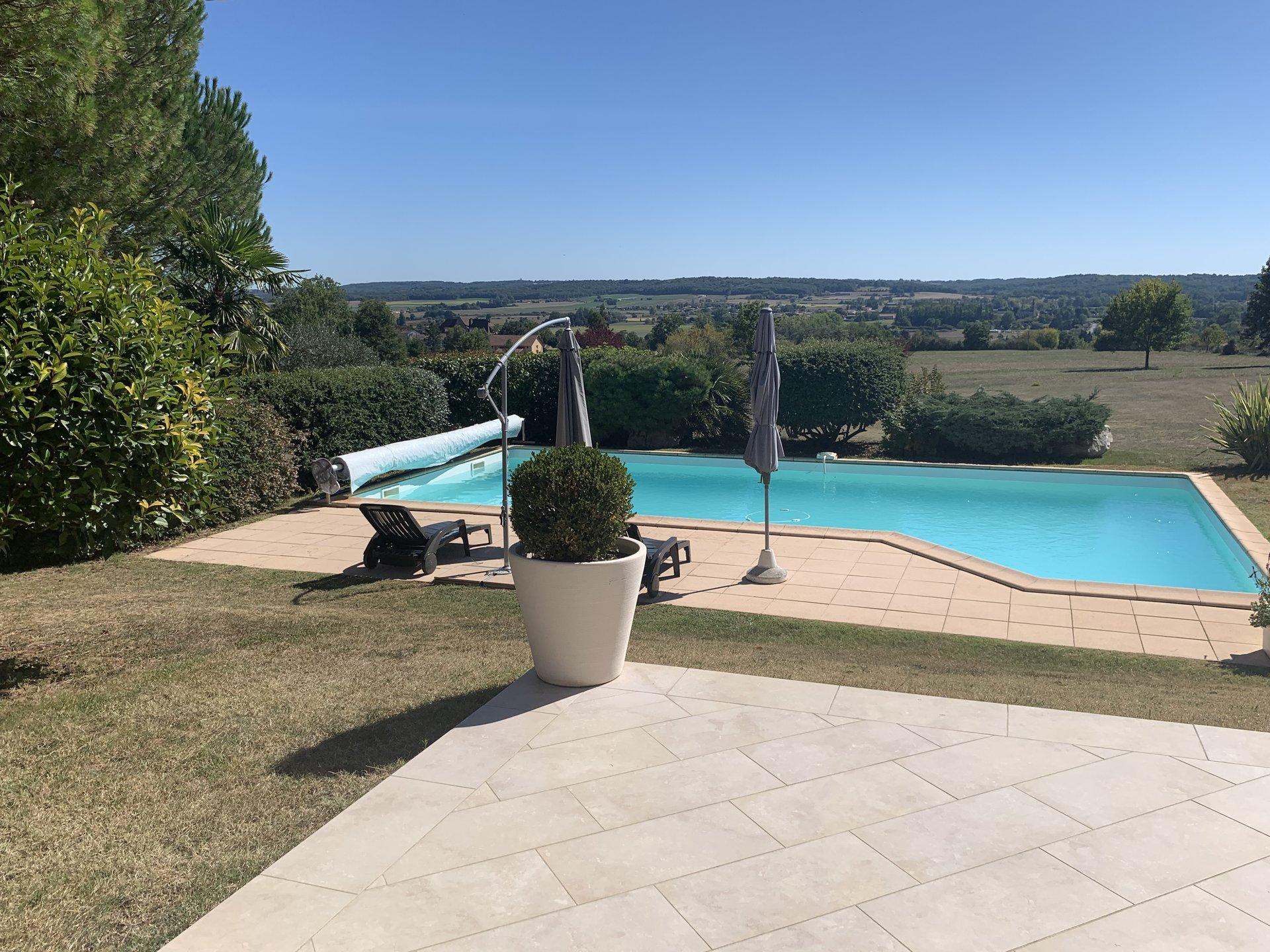 Maison style provençal avec vue dégagée