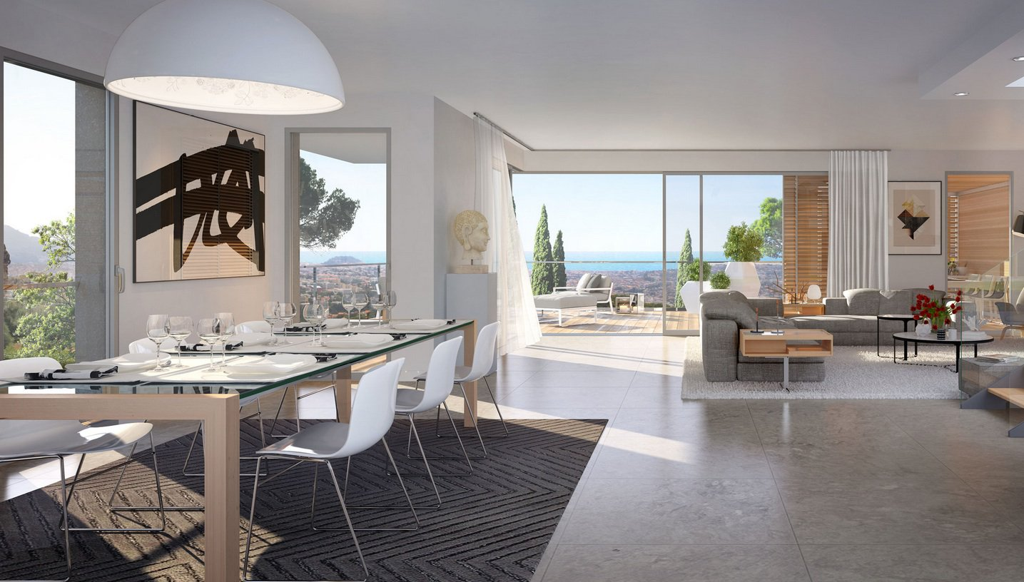 GRAND APPARTEMENT RDJ LUXE VUE MER