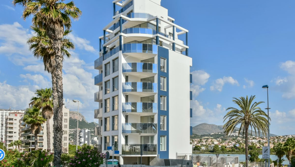 New build apartment close to the beach in Calpe