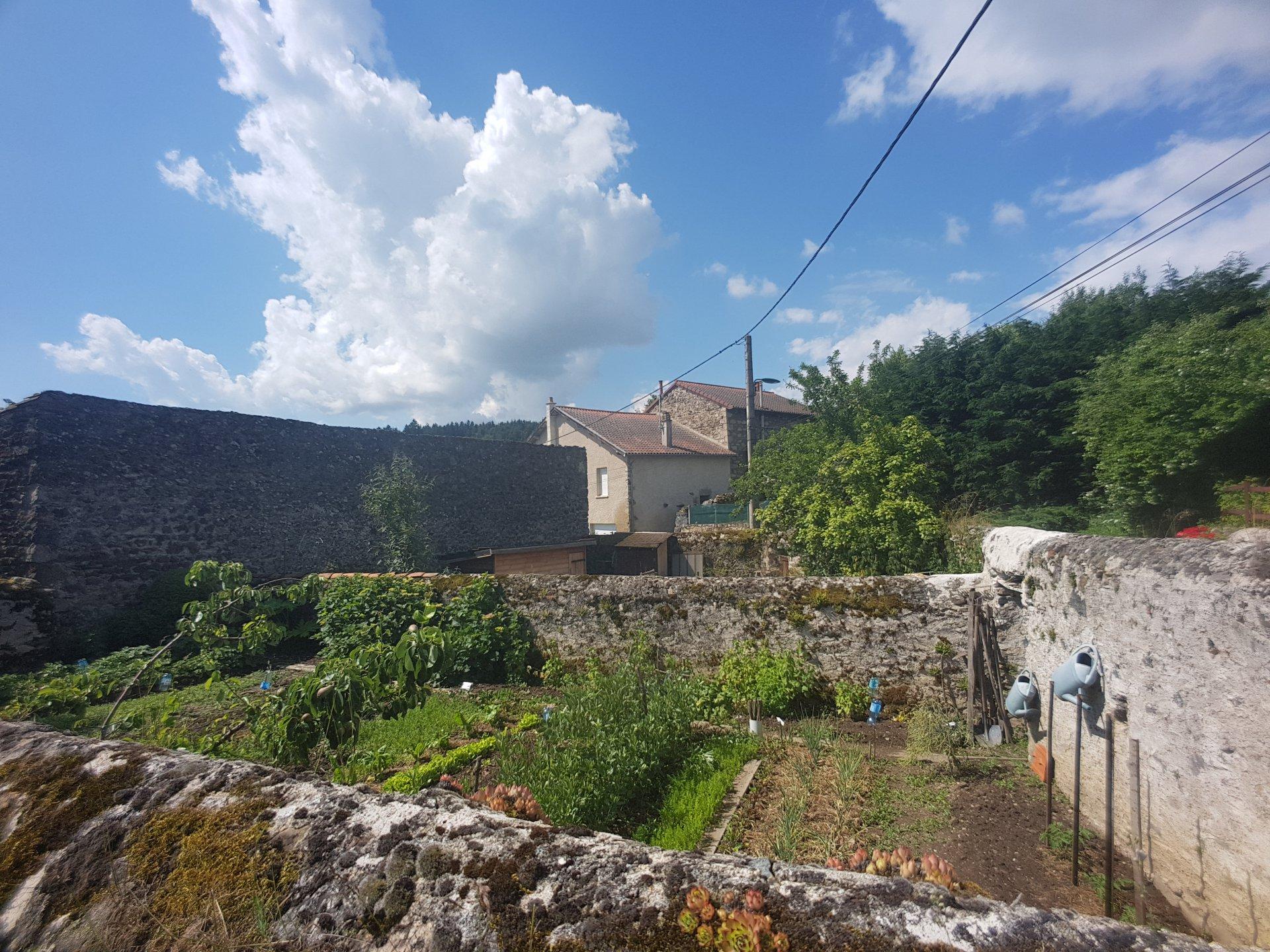 Maison en Pierre avec jardins et dépendance