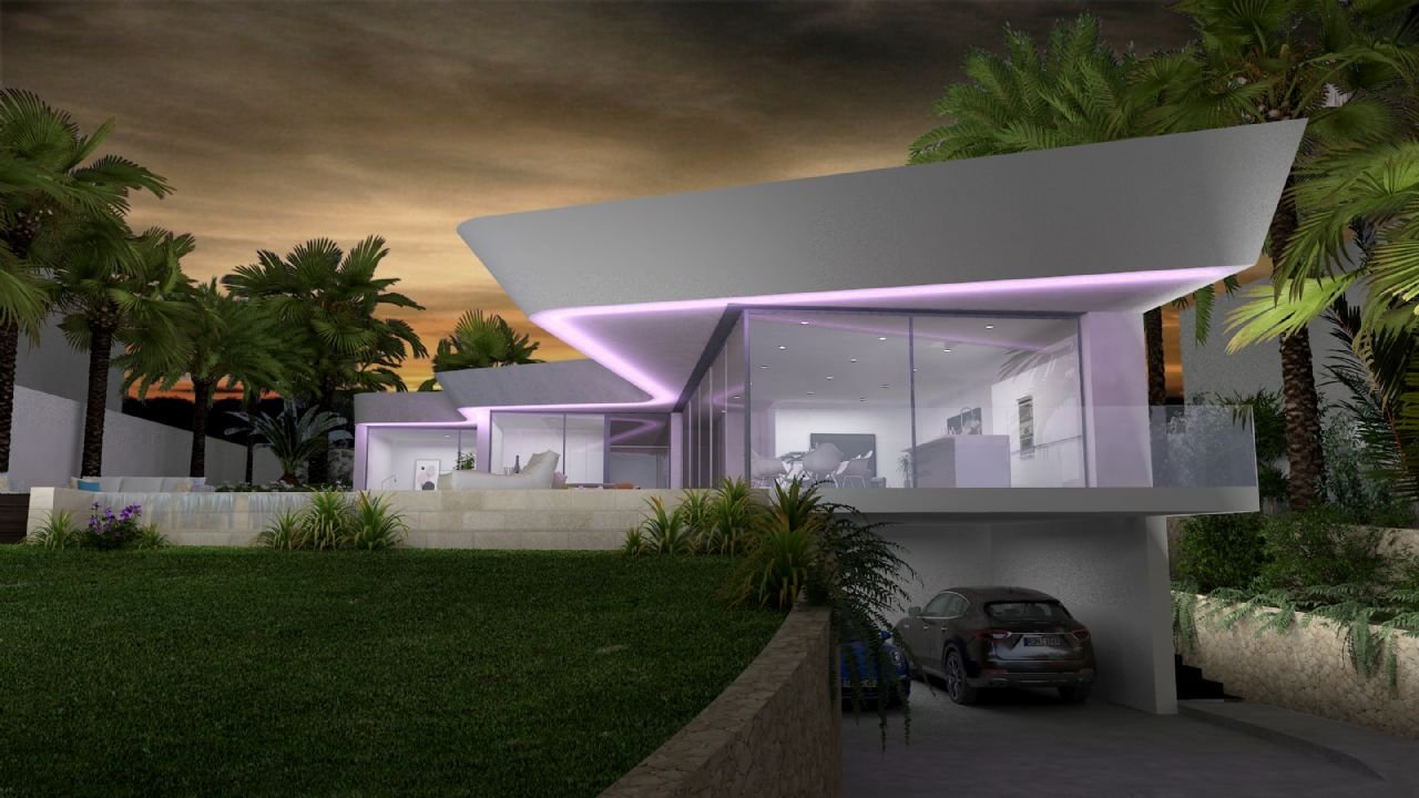 New construction of modern style in Benissa