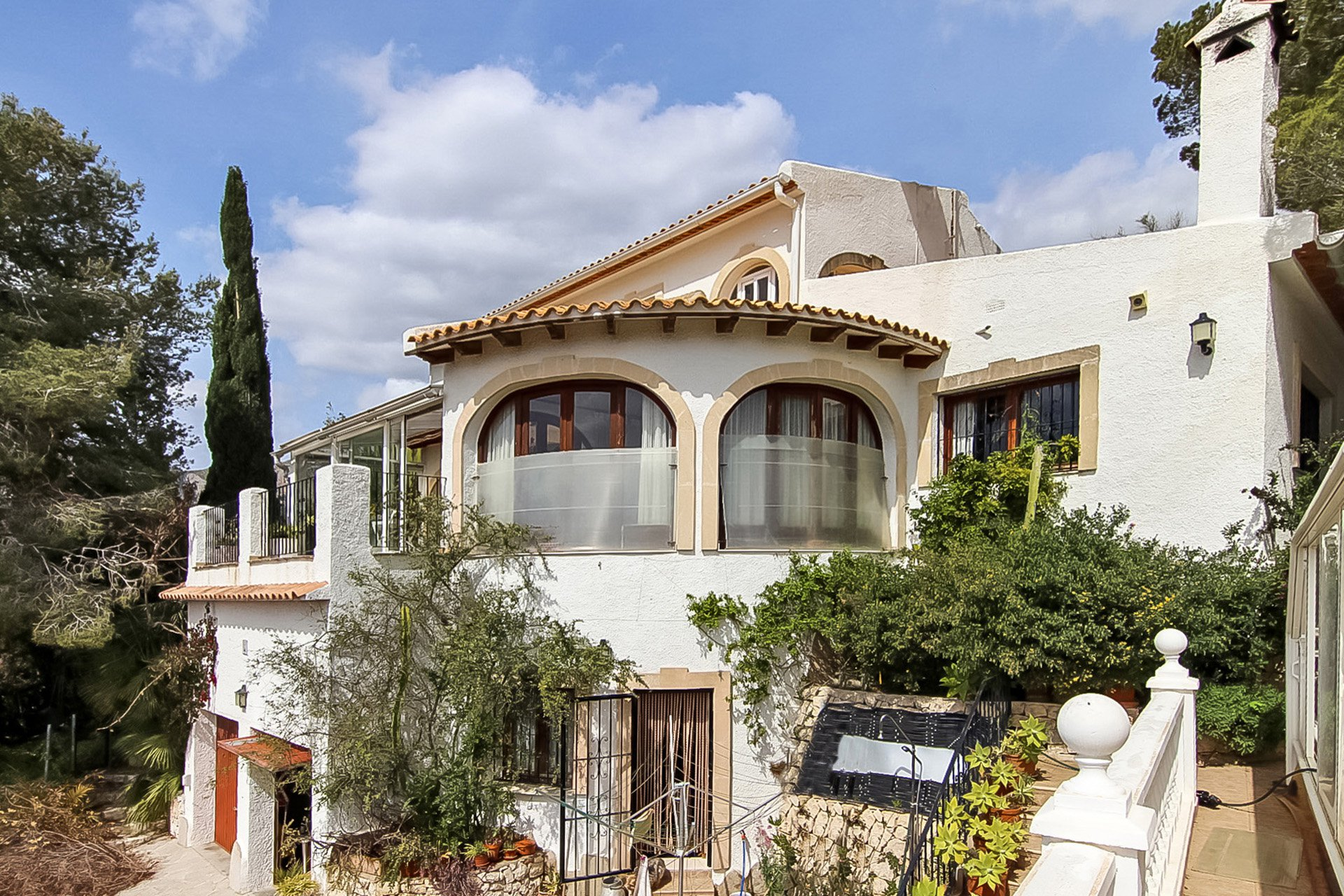 Villa with panoramic views in Calpe