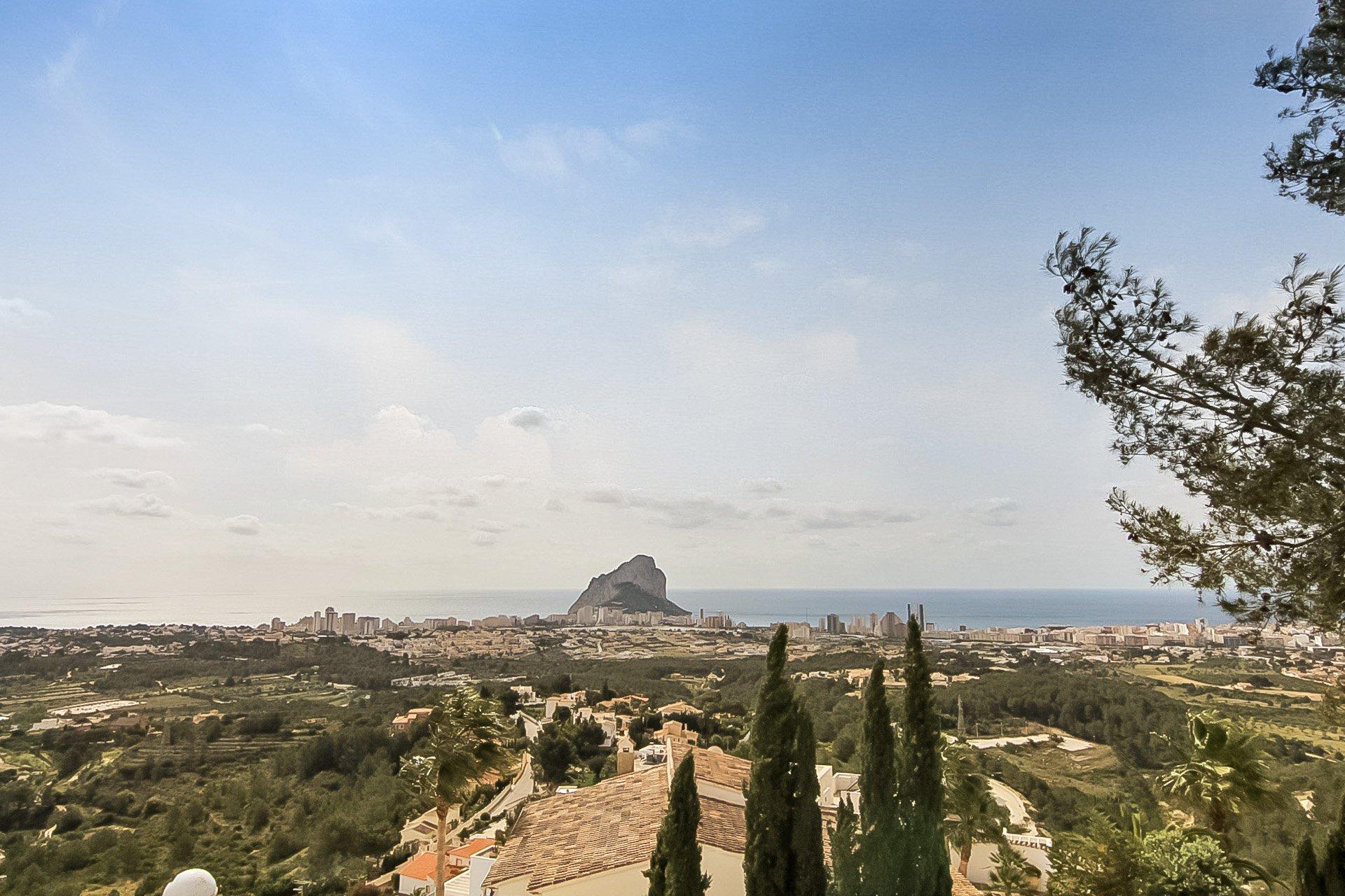 Villa met panoramisch uitzicht in Calpe