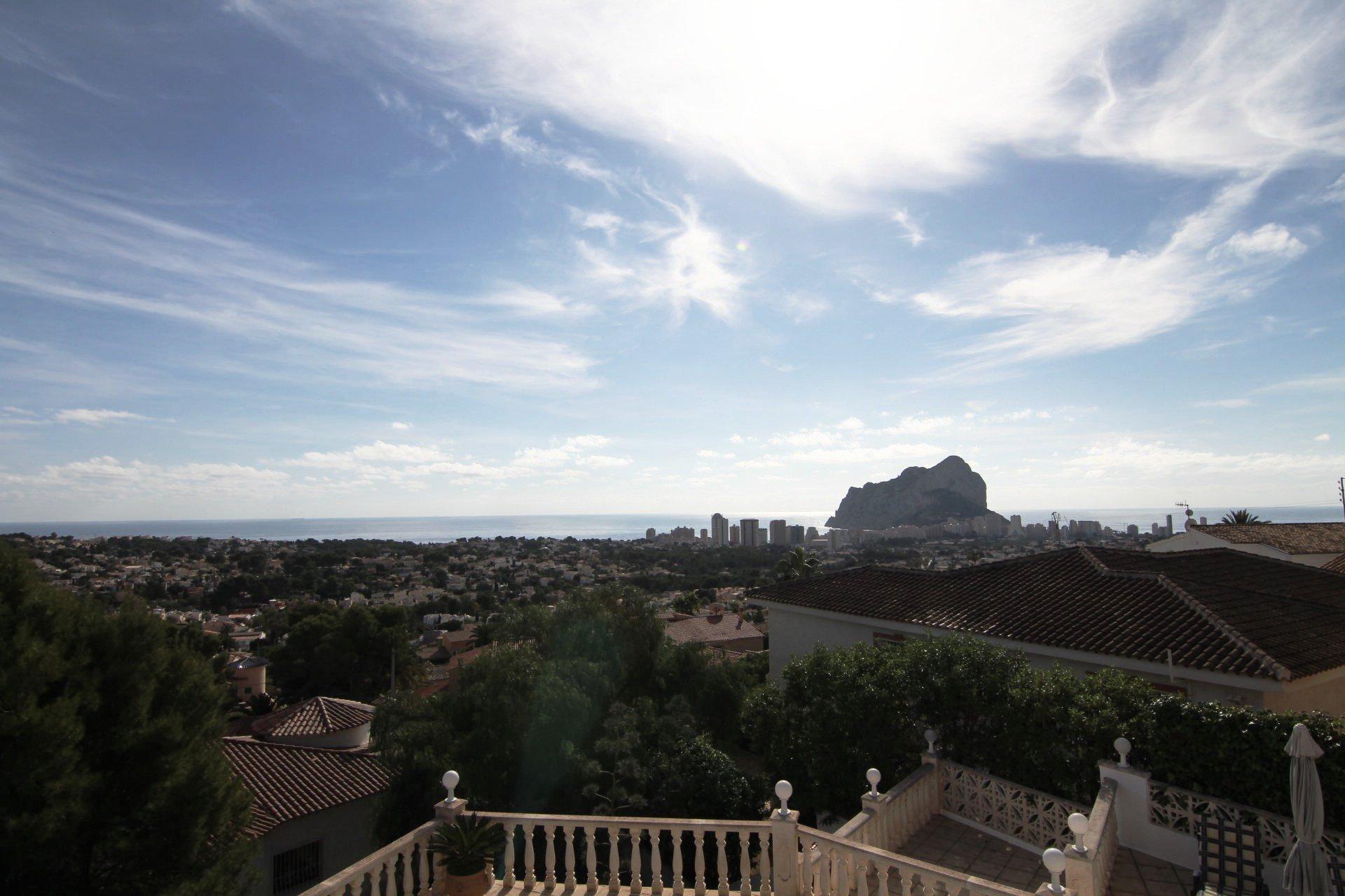 Villa avec vue imprenable sur la mer à Calpe