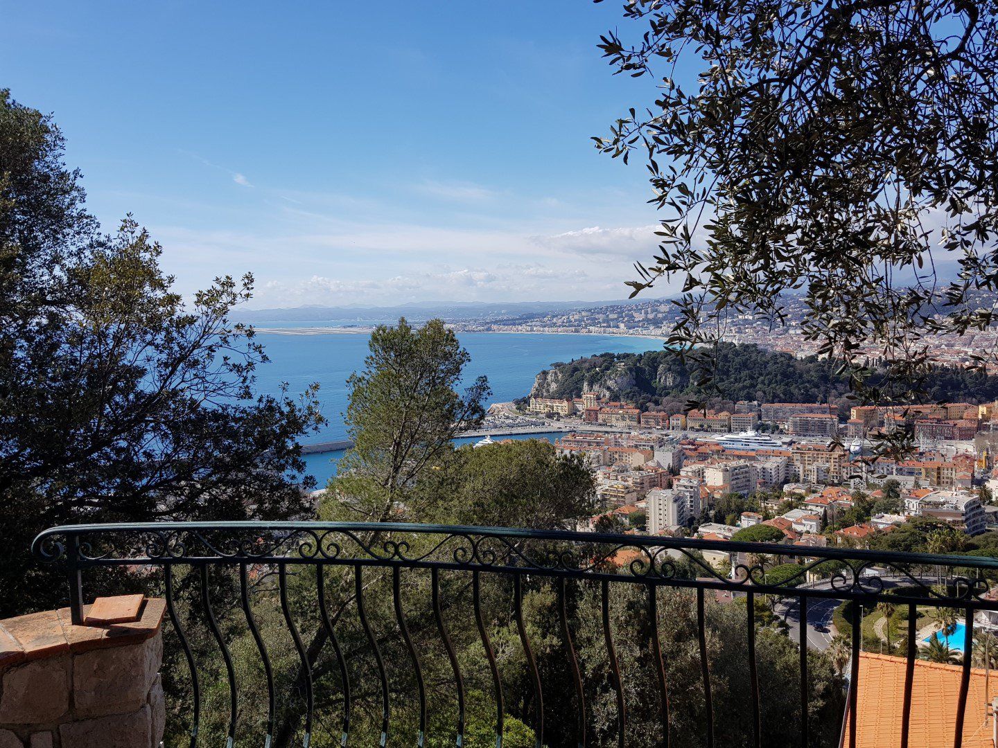 Magnifique villa with Panoramic Angel Bay View in Mont Boron
