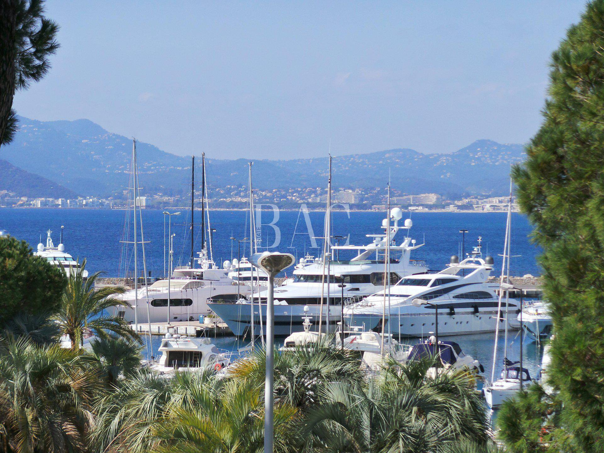 Cannes, Boulevard de la Croisette in a sought after residence and only 1700 meters from the Palais du festival des films