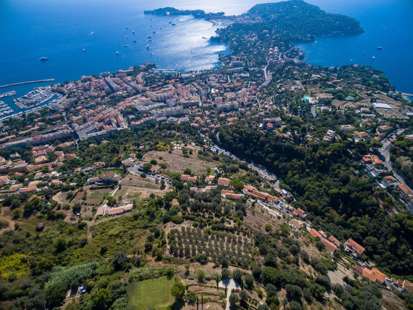 Fantastic Castle-Villa on the baie of Villefranche sur Mer