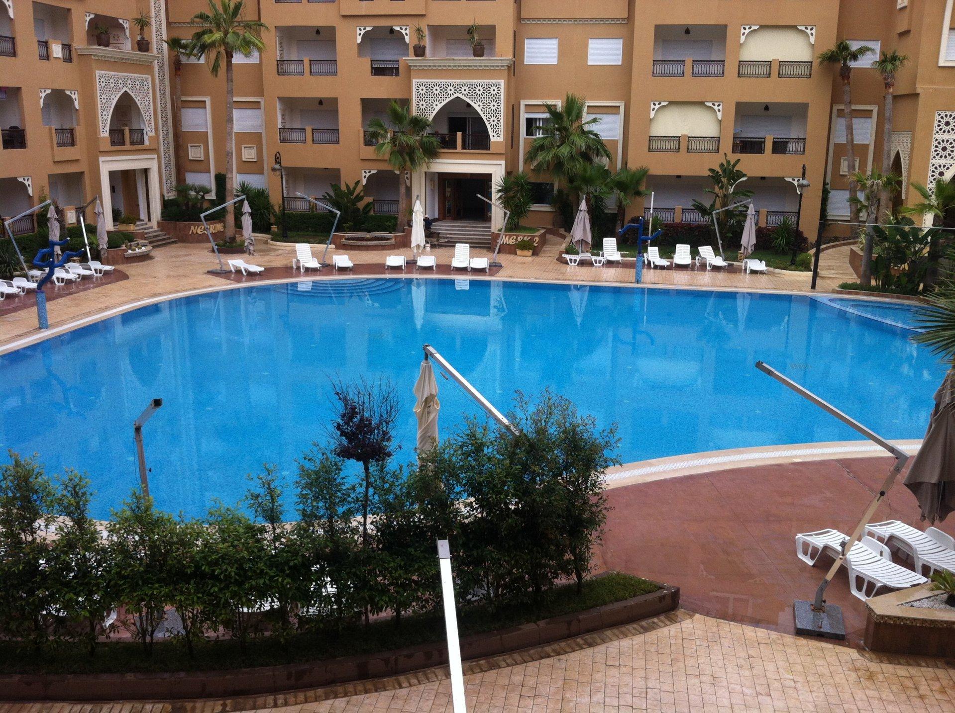 Appartement de vaccance avec piscine