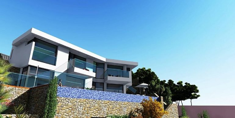New modern building project in Benissa