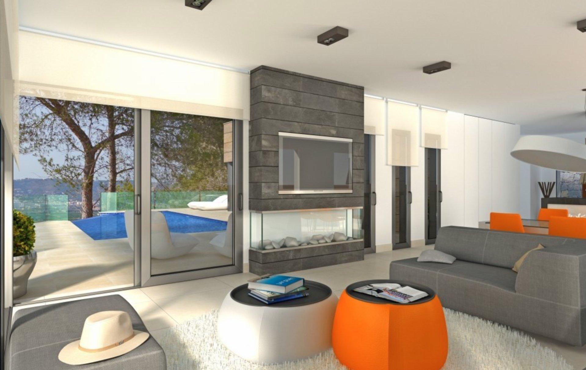 New build villa with panoramic views in Javea