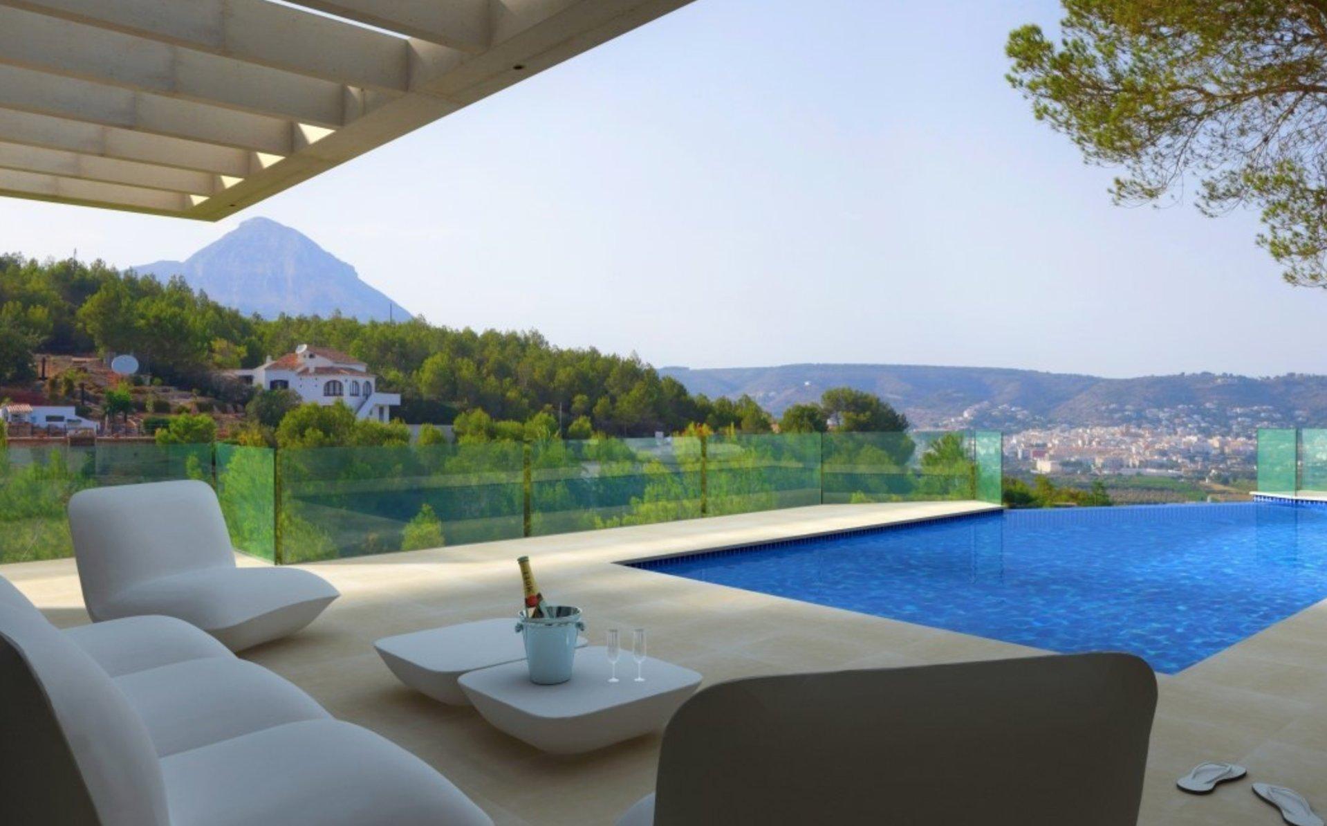 Villa neuve avec vue panoramique à Javea