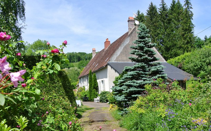 Exclusive- Cussy en Morvan. Beautiful former presbytery with 2 gîtes in very good condition
