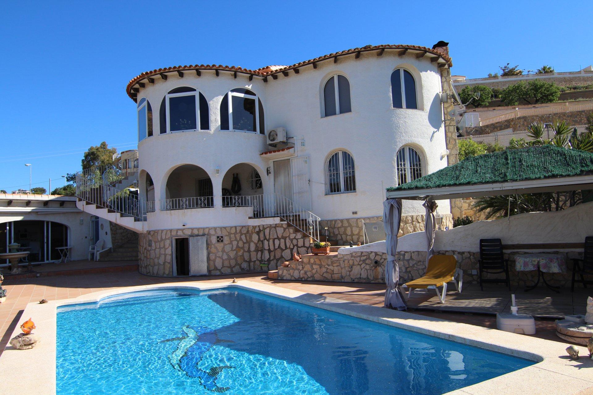 Villa de 3 chambres avec vue sur la mer