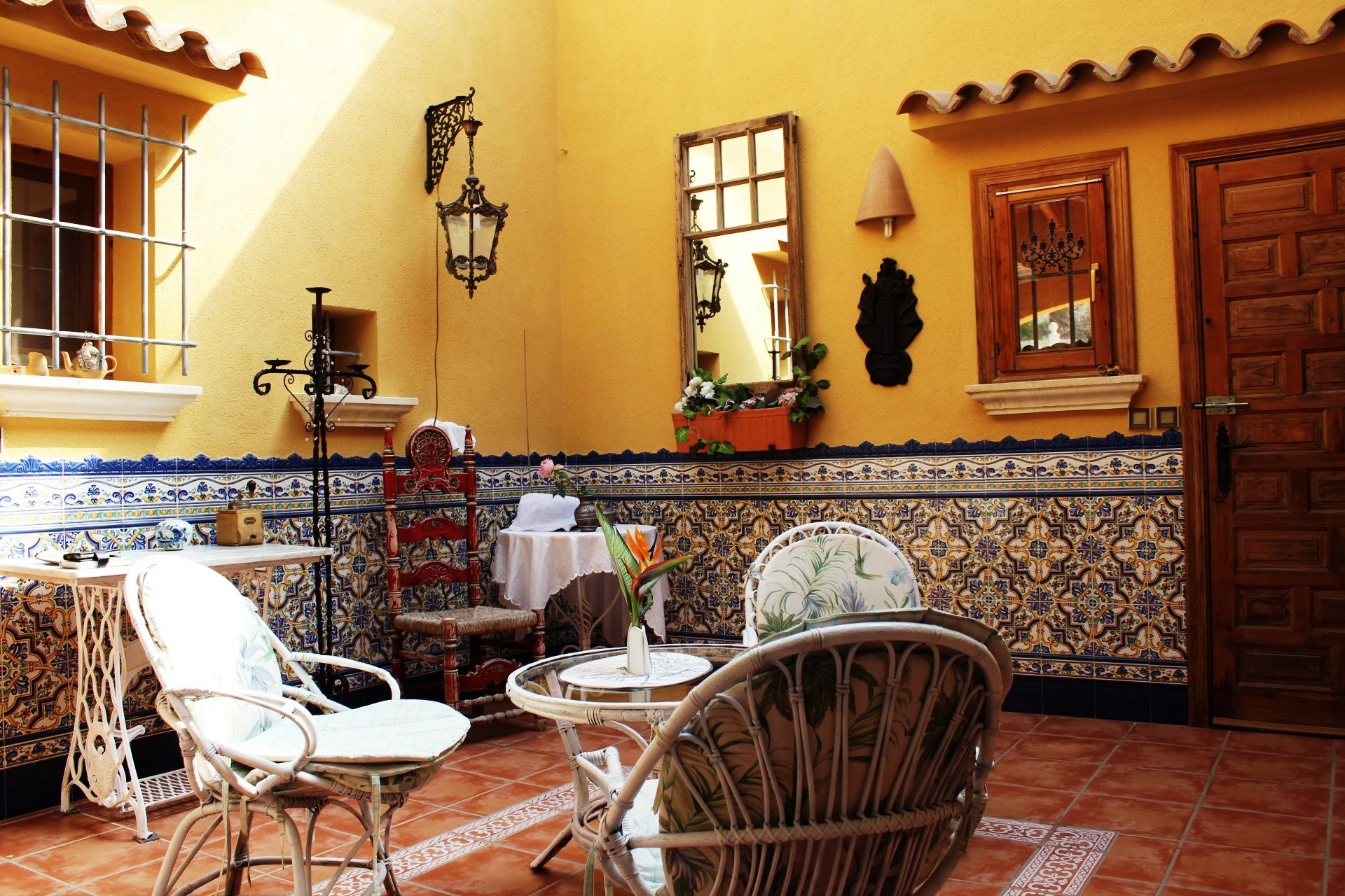 Mediterranean villa on 1 floor with beautiful sea views