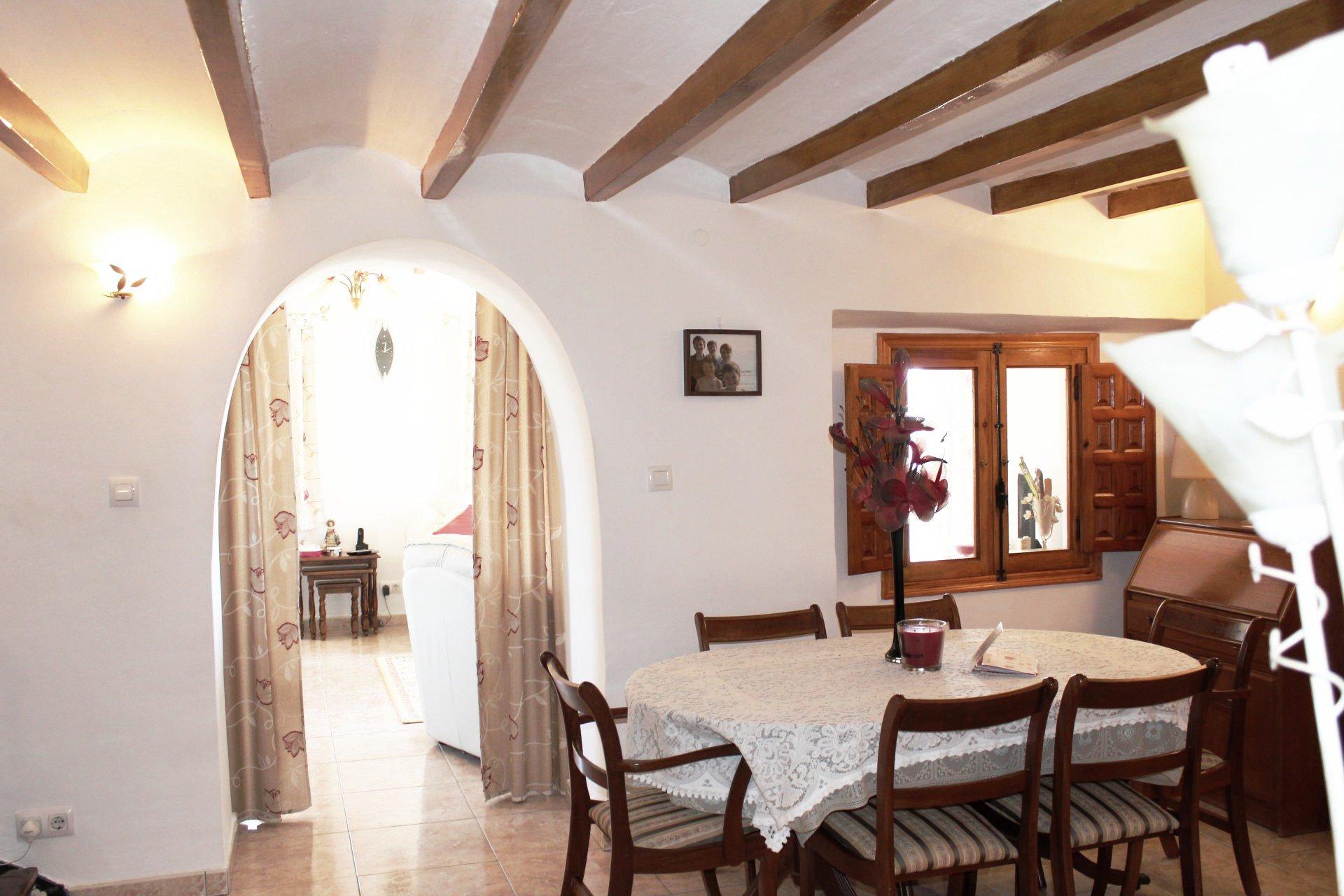 Belle maison de campagne avec vue sur la mer et le Peñon d'Ifach