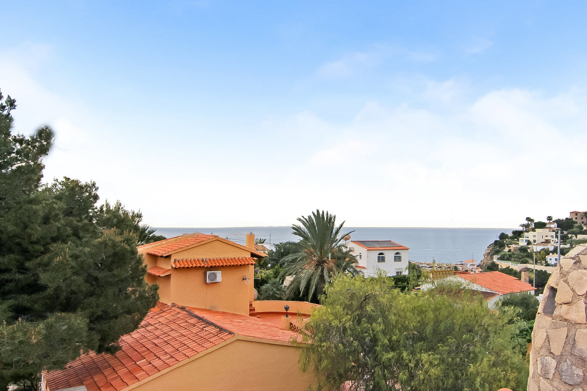 3-bedroom villa with seaviews in Calpe