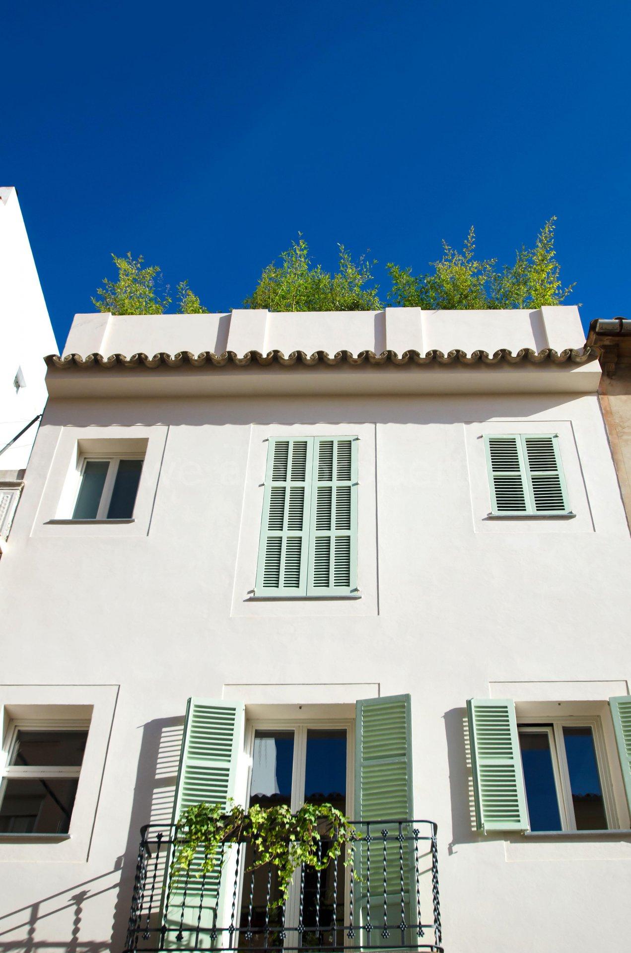 Ny modern takvåning med terrass i Santa Catalina